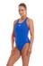 speedo Essential Endurance+ Medalist Swimsuit Women Neon Blue